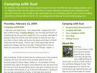 Camping with Suzi