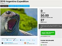 Daniel Fox 2010 Argentina Expedition