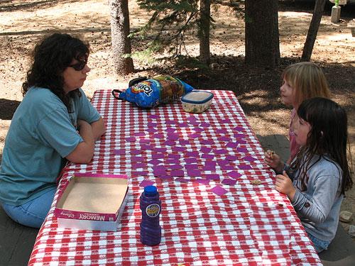 Kids Camping Memory Game