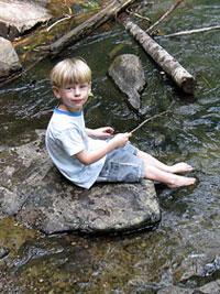 Kids Camping Stream