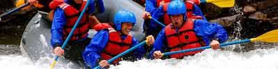 Whitewater rafting in Ashland, Oregon